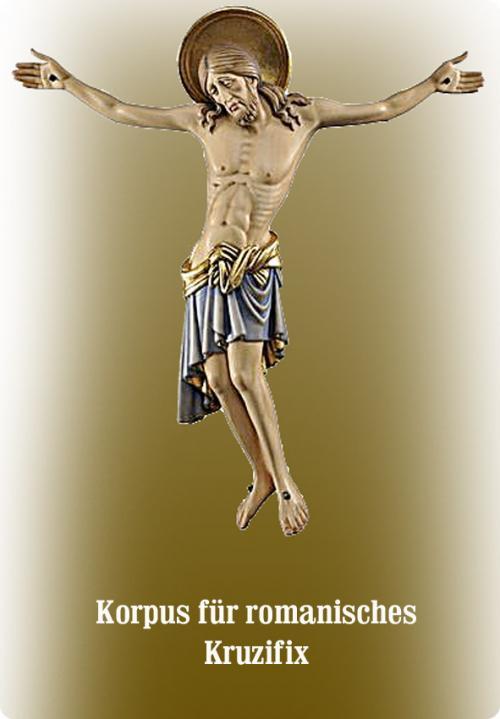 Korpus, Corpus für romanisches Kruzifix