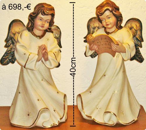 """Engelpaar """"Raffael"""" 40cm handbemalt"""