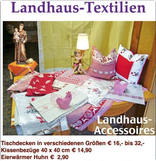 Landhaus-Tischdecken