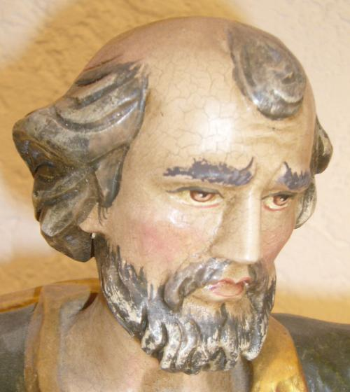 Porträt der Figur St. Petrus