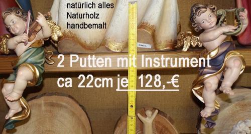 Putten mit Instrument ca 22cm