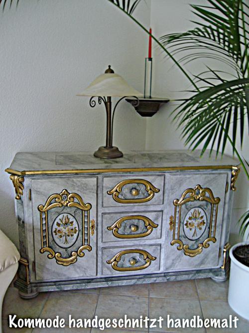 """Kommode Tisch (siehe auch unter """"Bauernschrank"""")"""